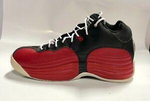 NIKE Jordan Black/Red/White Basketball Shoes Size 9.5