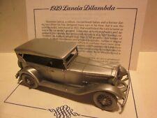 "New ListingDanbury Mint.Pewter Diecast,1/43 ""1929 Lancia Dilambda Touring"" Classic Model"