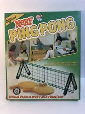 Vintage 1982 Nerf Ping Pong #0273 By Parker Brothers