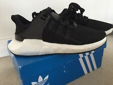 competitive price 6ed79 a301e Adidas Originals Boost EQT Support 93 17 Black Mens US7.5 UK7 Runners As