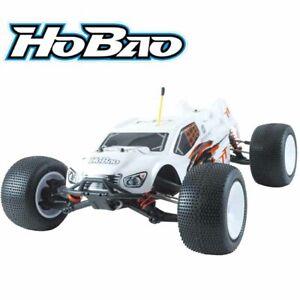 HoBao Racing 1/10 Hyper TT Electric Brushless 4WD Truggy White RTR w/ Radio