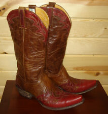"9.5 B OLD GRINGO women's 13"" Western Cowboy Boots - Made in Mexico - 9.5 M"