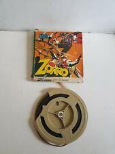 "Film super 8 ""Zorro et les 3 épées"" Mini Film"