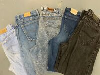 LADIES LEE VINTAGE HIGH WAISTED MOM STYLE JEANS - SIZES 24 25 26 27 28 29 30 32