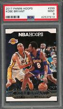 Kobe Bryant Los Angeles Lakers 2017 Panini Hoops Basketball Card #299 PSA 9 MINT