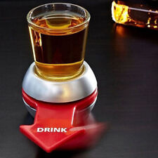 Spin the Shot Drinking Game Turntable Roulette Glass Spinning Interesting JK98