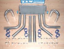 Ladeluftkühler SET *NEU* 33tlg Kit: LLK 55x14, Rohre 64 mm,Schellen,Schläuche b
