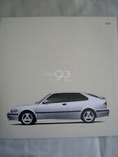Saab 93 Aero brochure 2000 German text