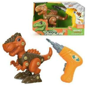 Dinosaur Tyrannosaurus Rex Take Apart Kids Learning Toy Drill Jurassic Park (50)