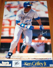 NEW SEALED 1988 Seattle Mariners Ken Griffey Jr Sports Illustrated Poster 23x35