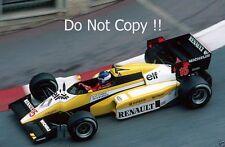 Patrick Tambay Renault RE50 Monaco Grand Prix 1984 Photograph 2