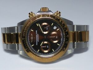 Invicta Men's Speedway Quartz Chrono Two Tone Stainless Steel Watch 17029