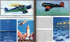 Air Travel Alfred G Buckham FOKKER Sikorsky Amphibion LOCKHEED Orig 1930 Article