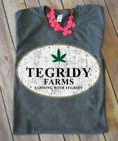 The Office Tegridy Farms Farming With Tegridy T Shirt Dark Heather Men S-6XL