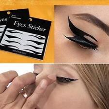 NiX 4 Pairs Eyeliner Temporary Tattoo Sticker Waterproof Sexy Cat Eye Eyeshadow