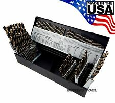 """Norseman 115 pc HI-MOLY M7 Drill Bit Set Number Letter 1/16"""" to 1/2"""" USA SP-115"""