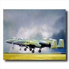 A-10 Thunderbolt Jet Airplane Wall Picture Art Print