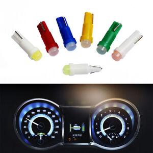10X T5 1SMD Dashboard Gauge Instrument Ceramic Car Side Wedge Light Led Bulb