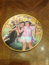 The Little Rascals :'Stuck On You' Euc Commemorative Plate Limited Edition