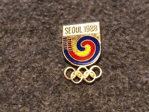 Olympic Games Seoul 1988 pin