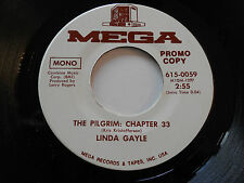 LINDA GAYLE NM- I Wish I Didn't Love You 45 The Pilgrim: Chapter 33 PROMO MONO
