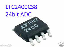 LTC2400CS8 - LTC2400 24-Bit uPower No Latency ADC in SO-8 IC upgrade arduino ADC