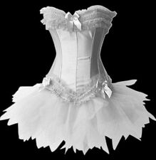 Sexy Gorgeous Burlesque Corset & tutu/skirt Fancy dress outfit Halloween Costume