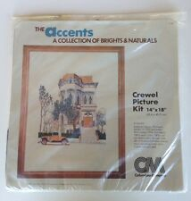 Columbia Minerva Crewel Embroidery Kit-Victorian House
