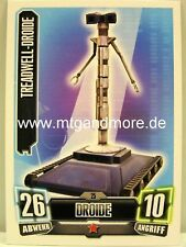 Force Attax Serie 2 Treadwell-Droide #025