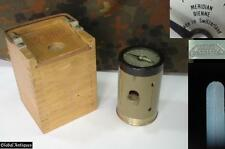 WWII WEHRMACHT ARTILLERY THEODOLITE w/BOX SWISS MADE