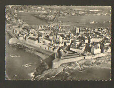 SAINT-MALO (35) ECOLE NATIONALE DE LA MARINE MARCHANDE vue aérienne 1970