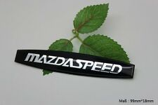 D217 Mazdaspeed Auto 3D Emblem Badge Aufkleber PKW KFZ emblema Car Sticker