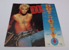 """BILLY IDOL, Hot in the City, 1985 3 Track 12"""" Vinyl Catch my Fall Remix Fix"""