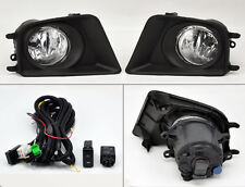 Toyota Tacoma 12-15 Front Fog Lights w/ Covers Wiring Pair RH LH Right Left