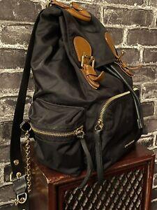 Burberry Rucksack Backpack Medium Black Nylon