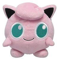 "Brand new Sanei Pokemon All Star Collection Jigglypuff Stuffed Plush 5"""