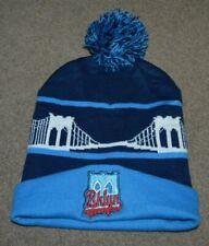 Brooklyn Cyclones Bridge Pom Pom Winter Beanie Knit Cap Hat
