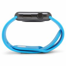 BLUE Silicone Sport Band Strap For Apple Watch Series 5,4,3,2,1 38/40/42/44 mm
