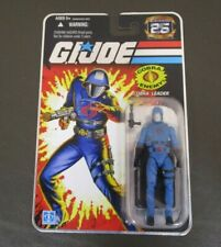 Cobra Commander Leader (Helmet) G.I. JOE COBRA 25th Anniversary MOC Foil