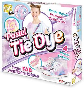 Fablab Pastel Tie Dye Kit Craft Activity Set