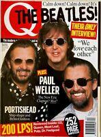 Q Magazine Dec 1995 - The Beatles - in stock from UK also Paul Weller