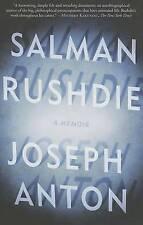 Joseph Anton: A Memoir by Salman Rushdie (Paperback / softback, 2013)