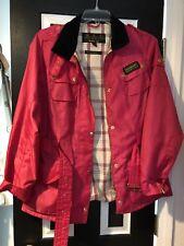 USED BARBOUR International Pink Jacket. UK 16