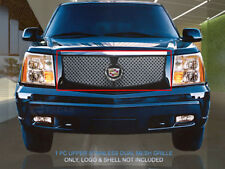 Dual Weave Mesh Grille Main Upper Grill For 2002-2006 Escalade
