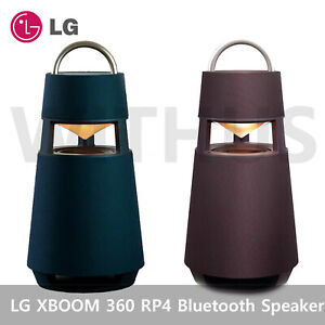 LG XBOOM 360 RP4 Portable Wireless Bluetooth Speaker with Mood Lighting  Express