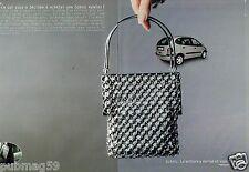 Publicité advertising 1999 (2 pages) Renault Scenic
