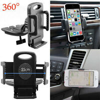 Universal Car CD Slot Mount Holder Stand Cradle For Mobiles Phone iPhone ft