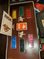Board Vintage RISK Game No. 44 Parker Brothers World Conquest 1975 COMPLETE EUC
