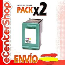 2 Cartuchos Tinta Color HP 351XL Reman HP Officejet J6405