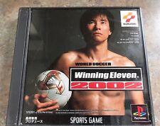 WORLD SOCCER WINNING ELEVEN 2002 Final PS1 KONAMI Japanese *USA Seller*
